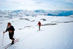 skitur i juni -
