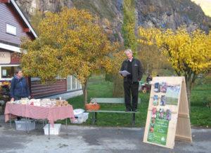Gunnar Sulen opnar Smak Sakte 2010
