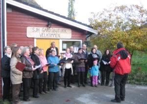 Aurland Songlag under opninga av Smak Sakte 2010