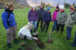 Vg3´ere instruerer hverandre om jordegenskaper