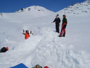 Vinterkurs med Aurland røde kors april 2014